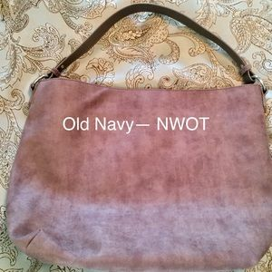 Old Navy slouch purse NWOT